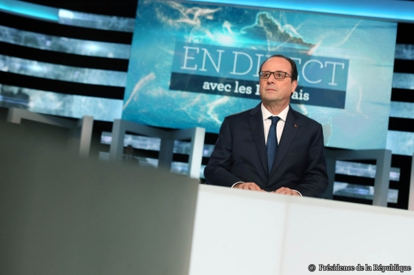 François Hollande en prime time à mi-mandat