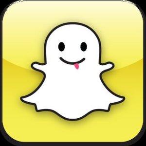 Le logo de SnapChat qui représente un fantôme évoque l'invisibilité