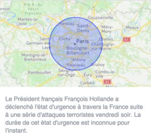 #ParisAttacks sur les réseaux sociaux : perspectives et questionnements